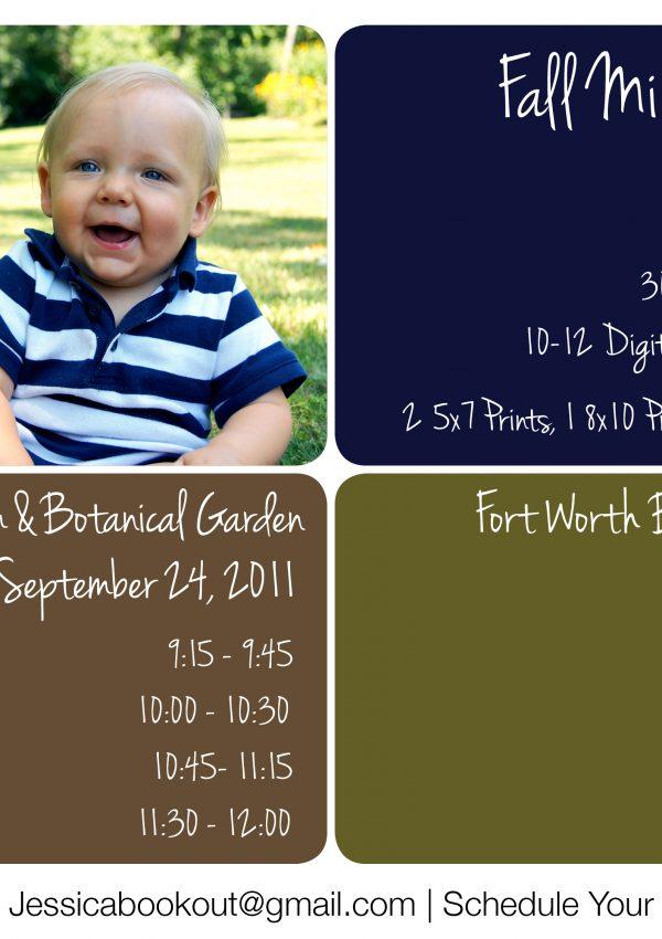 Fall Mini Sessions 2011 | Dallas Baby Photographer