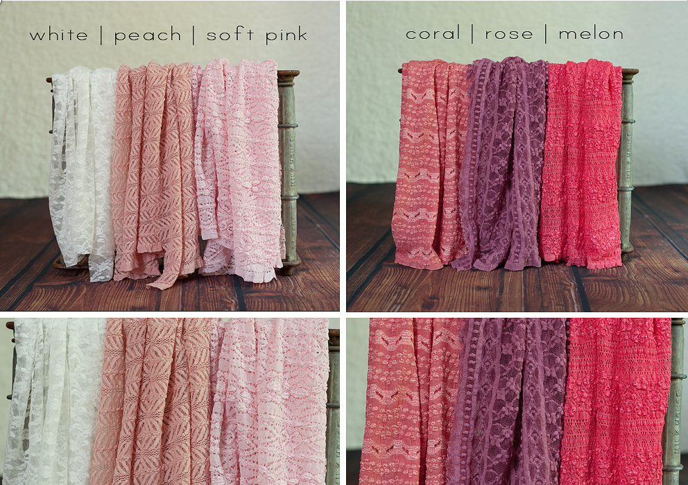 Lilian grace stretch lace wraps