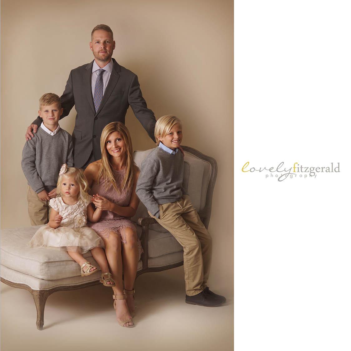 Fillebrown Family   Dallas Fine Art Family Portraits - Lovely