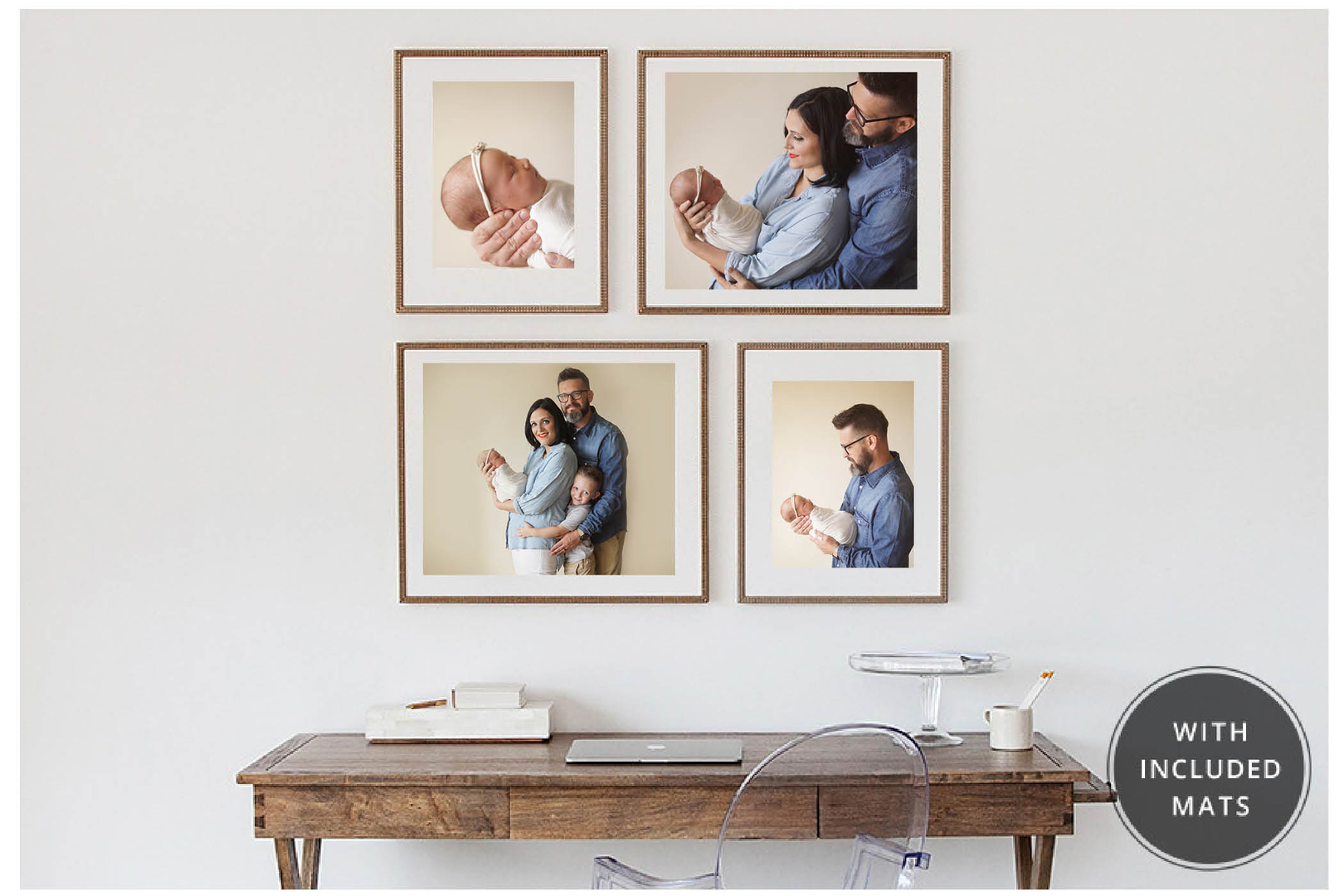 dallas newborn photographer wall portrait