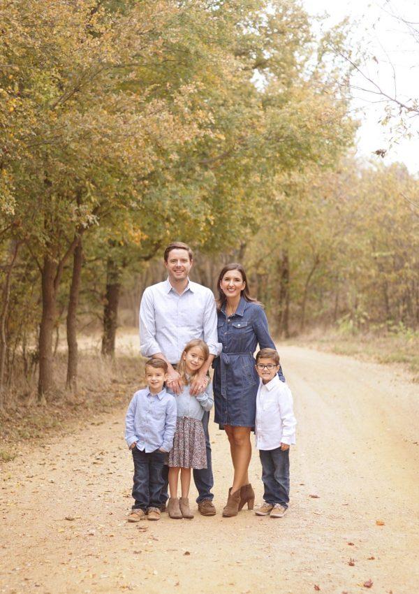 Plano Family Photographer | The Gray Family Fall Portraits