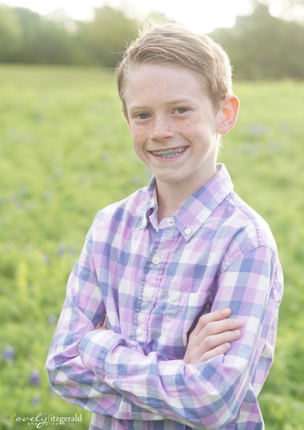Frisco Bluebonnet Photography | Ryan and Harrison's Wildflower Portraits