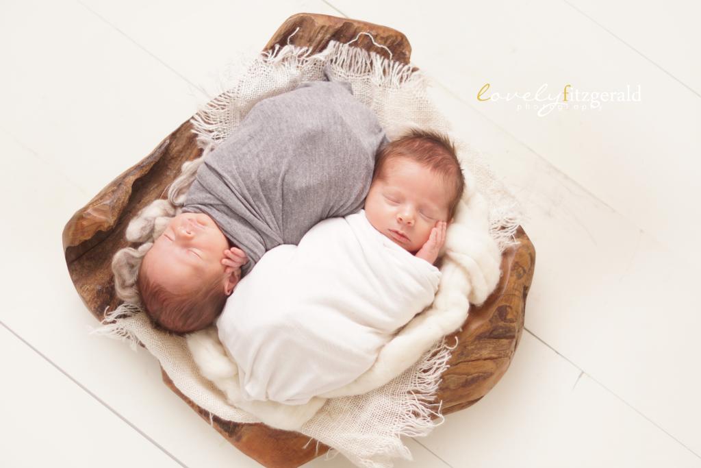 frisco newborn twin photographer