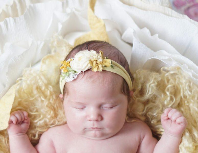Lewisville Texas Newborn Photographer | Baby Monroe