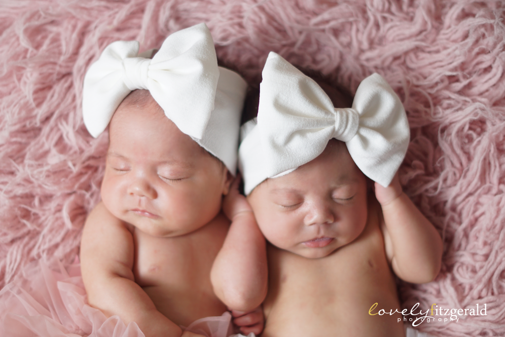 Frisco Newborn Identical Twin Girls