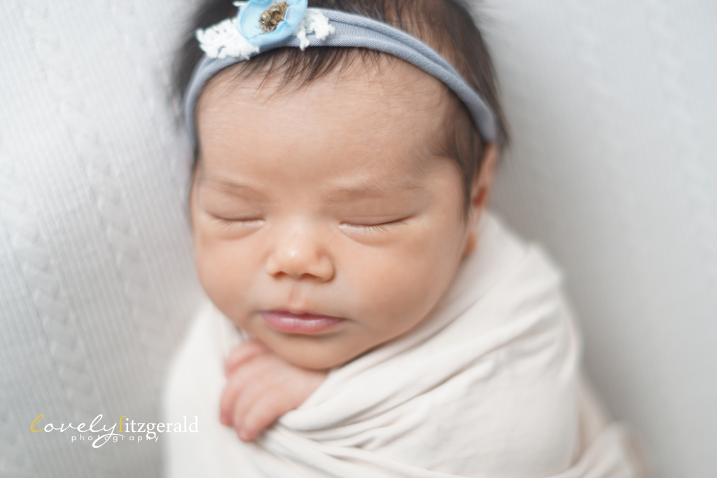 Sleeping Newborn Girl, Frisco Newborn Photographer