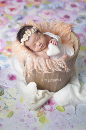 newborn pose, Frisco Newborn Photographer