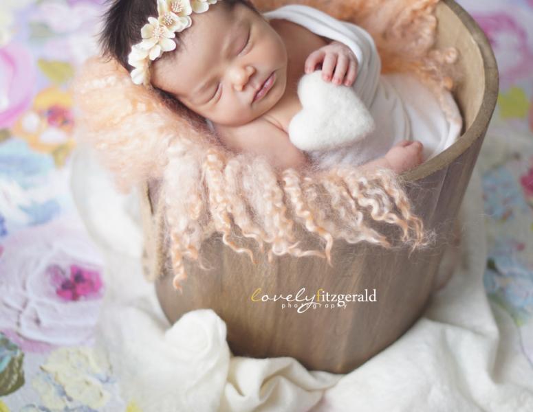 Prosper Newborn Photographer | Baby Ora