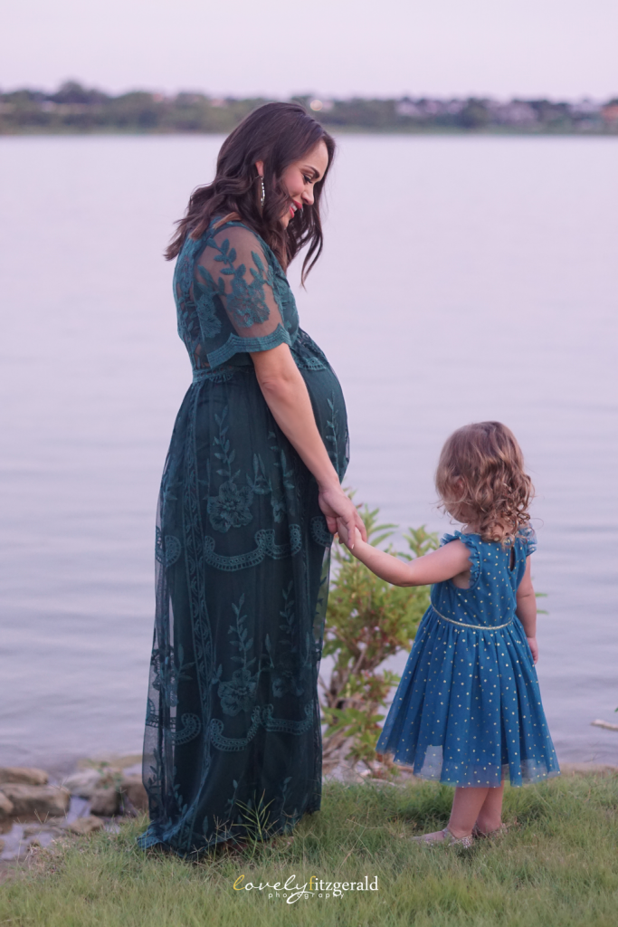 Lake Lewisville Maternity Photos